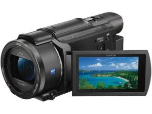ビデオカメラFDR-AX55の画像